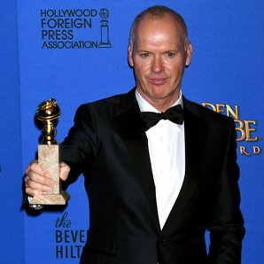 Michael Keaton Golden Globes 2015