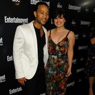 "John Legend and Kelly Clarkson attend the ""Enterta"