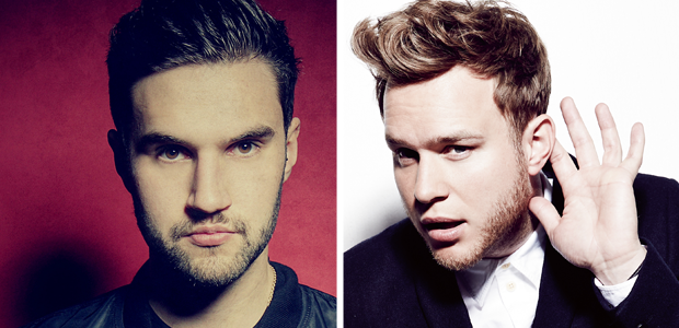 Philip George v Olly Murs Big Top 40
