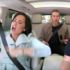 James Corden Demi Lovato Nick Jonas Carpool Karaok
