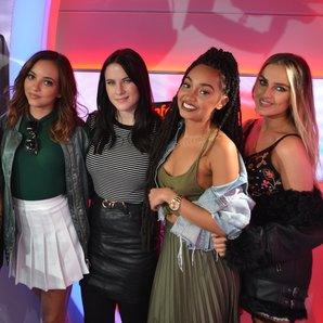 Little Mix Kat Shoob Vodafone Big Top 40