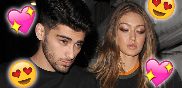 ZAYN Gigi Hadid in London 2