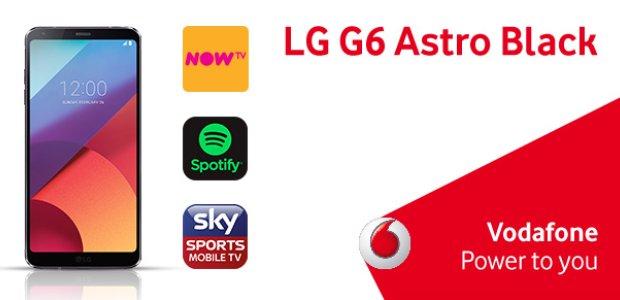 LG G6 Vodafone Comeptition